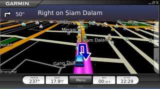 Wuih jadi alat navigasi bisa juga :)