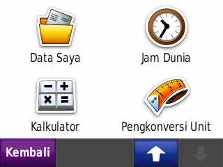 Manage my data, jam dunia, calc & konversi