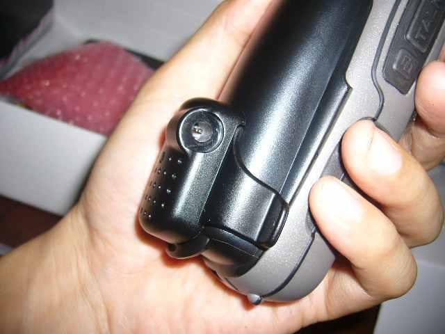 Adapter Baterai Terpasang