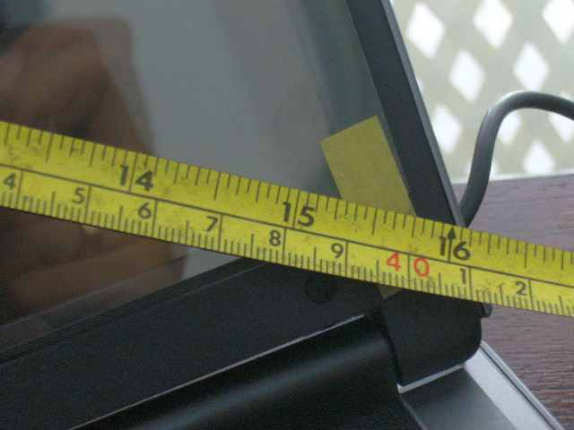 Diagonal layar