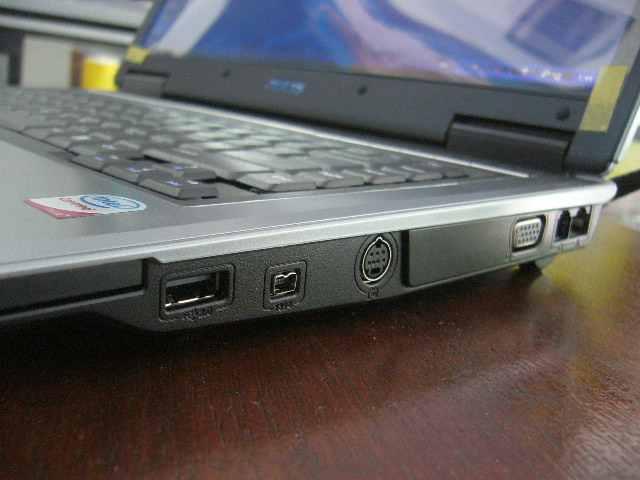 Express card, USB, Firewire, S-Video, LAN dan Modem
