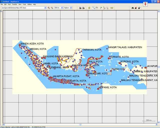 Mapsource di PC