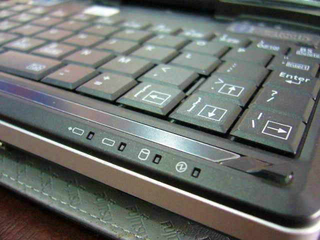 Efisiensi tempat, tombol kursor panah saja harus tekan Fn