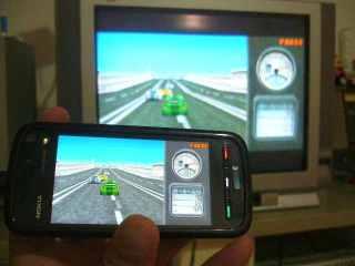 3D game balap udah built in