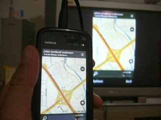 Nokia Maps Daerah Jawabali udah preinstalled