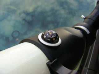 Ini kompas, ada airnya juga