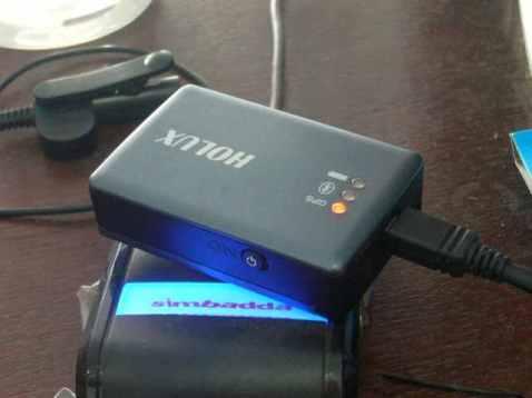 My blackbox Holux M1000c :)