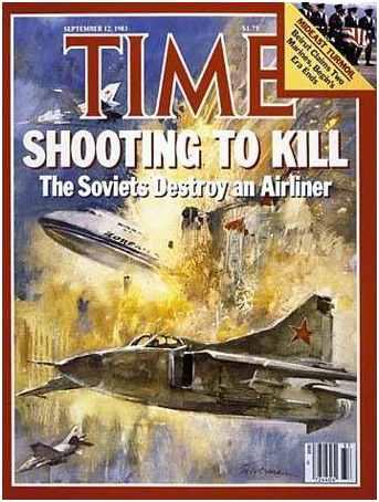 Tragedi penembakan pesawat sipil Korea oleh USSR
