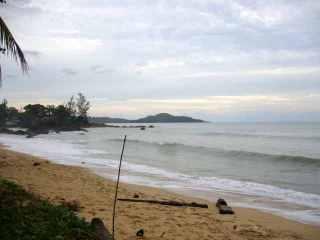 Ke Pandan Beach di daerah Lundu