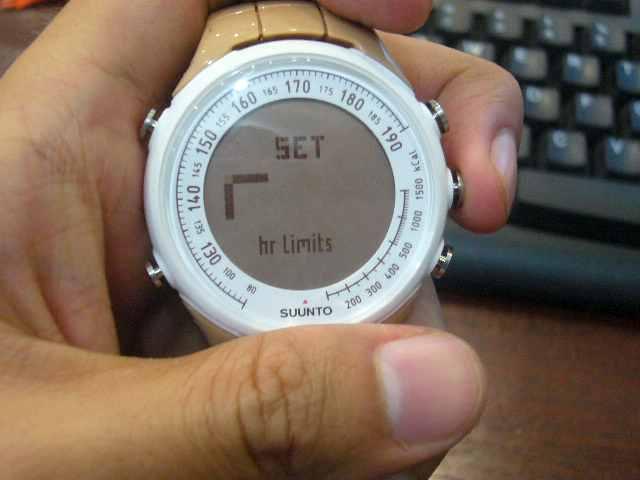 Pengaturan (Heart Rate Limit/Batas Denyut Jantung)