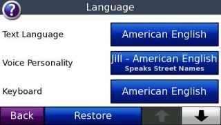 Setel bahasa
