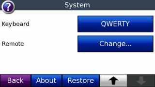Setel keyboard dan aktifkan remote ASR
