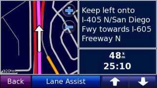 Lane Assist bisa ditekan jika peta mendukung