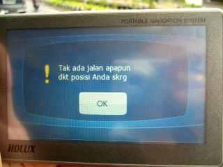 Tidak bisa kesana, wong beda pulau :)