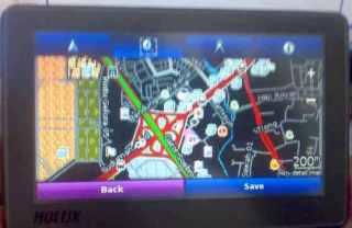 Hmmm, bisa yah tampilkan peta Garmin :)