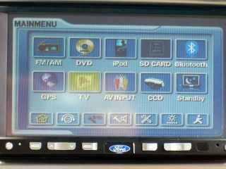 Inilah control panel untuk Headunit, mari akses satu per satu