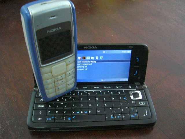 Ponsel yang dibutuhkan