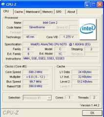 Info CPU