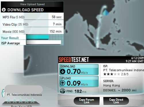Speedtest.net server hongkong