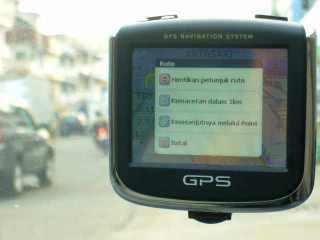 Sayang Indonesia belum ada provider kemacetan