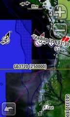 Peta dengan citra satelit