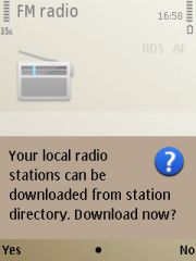 Ambil data stasiun radio di internet