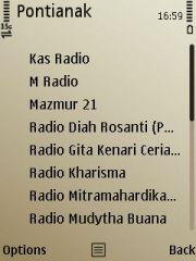 List Radio Pontianak