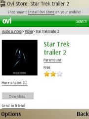 Pilih trailer star trek