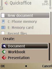 Buka atau buat dokumen