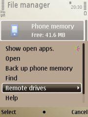 Bisa remote drive