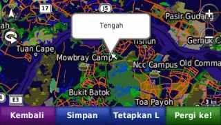Peta singapore