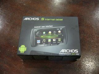 The New Archos 5IT Android