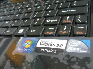 Windows 7, MS Works serba orginal