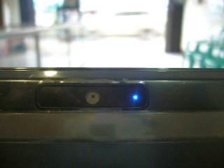 Webcam mulai nyala