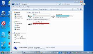 Kapasitas HDD 320GB
