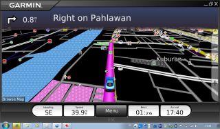 Navigation with Axioo
