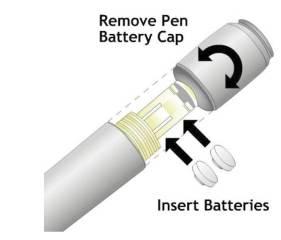 Ingat batere jangan pasang terbalik