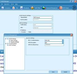 Tancap ke PC, langsung 3 wifi manager terinstal untuk setting password dll