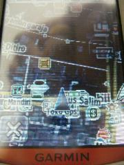 Tampilan peta dengan custom maps