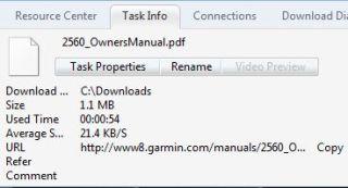 Kecepatan download rata-rata (Nokia E52 dan Joikuspot)