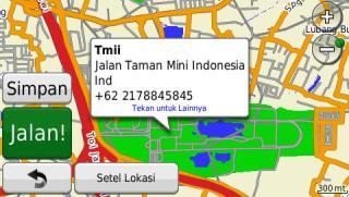 View map TMII