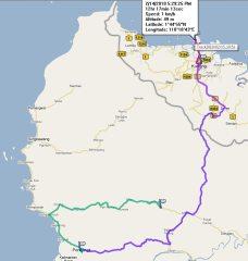 Koordinat resort ini: N1.75337 E110.31597