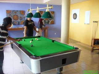 Pool inside Gecko Bar
