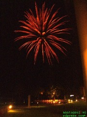 Nice firework