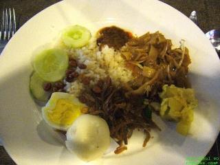 My own made nasi lemak