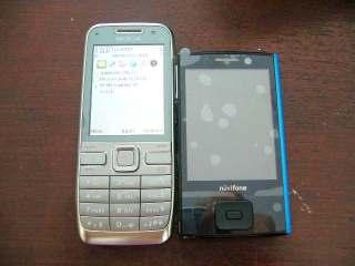 Perbandingan ukuran vs Nokia E52