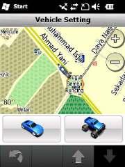 Ubah icon kendaraan, garmin garage