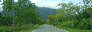 Jalan menuju Damai Beach