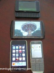 N900, Archos 5 Android, Ipod touch, E52