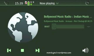 Bollywood music...right on your palm :)